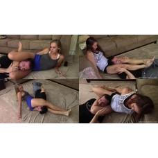 Jenna & Marilyn: Sisters Scissor Challenge
